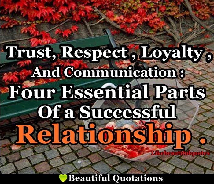 Loyalty In Relationships Quotes Magnificent Trust Respect Loyalty And Communication Beautiful Quotations