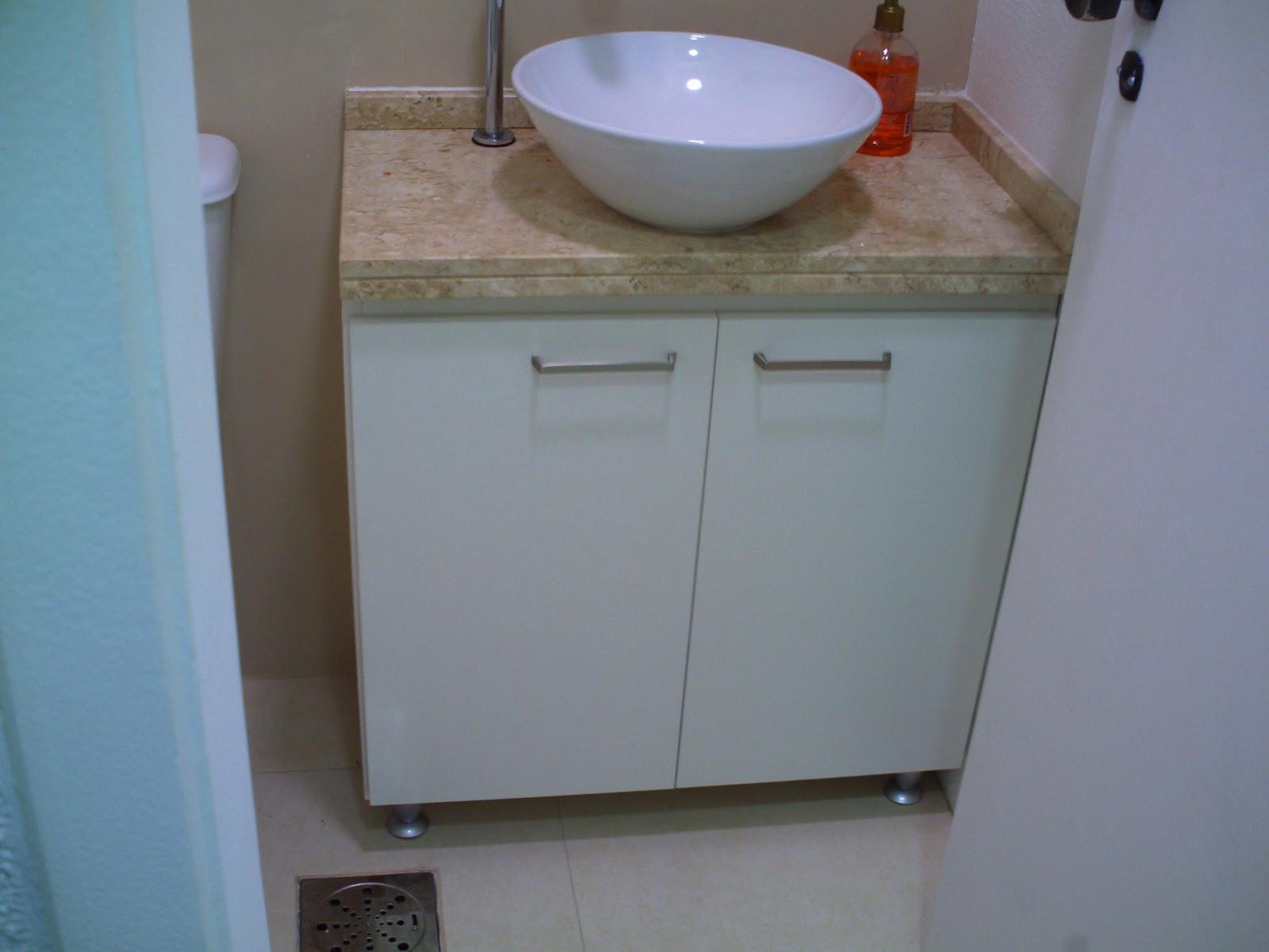 Oficina de Marcenaria: Balcão p/ banheiro #3F458C 1600x1200 Banheiro Com Balcao