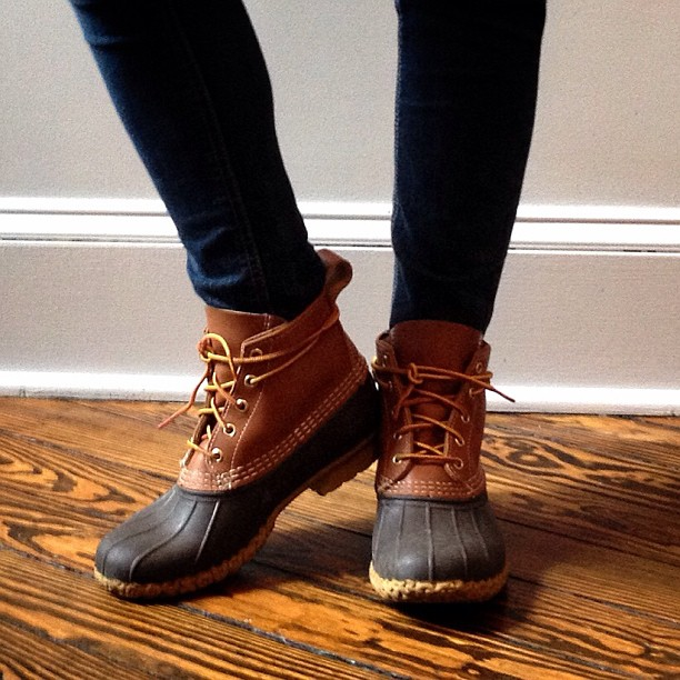 Now's the Time for Bean Boots - The College Prepster