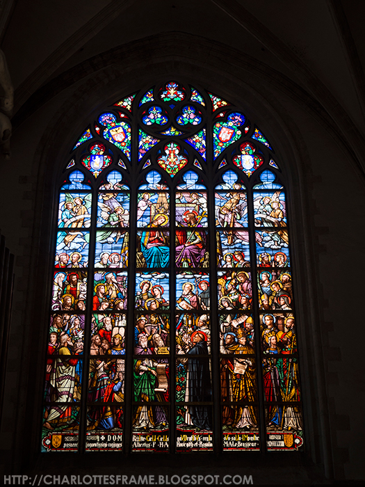 Glas in lood Onze-Lieve-Vrouwekathedraal, Leadlight Cathedral of Our Lady - Antwerp