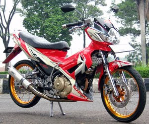 modifikasi satria bangdung, thai racing look