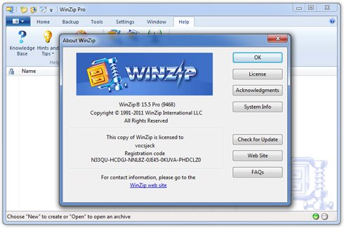 WinZip Keygen Free Download