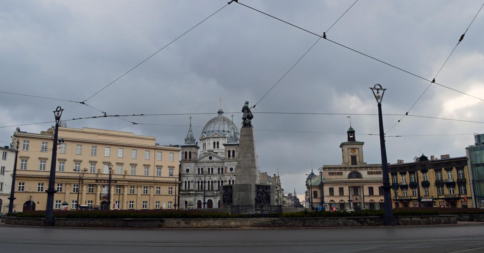 Spacerowa Łódź cz. II - Piotrkowska, Plac Wolności