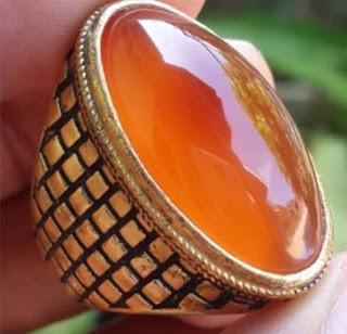 Batu Natural Golden Raflessia Bengkulu Top Kristal