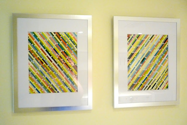 This darling home diy project paint chip art for Arts and crafts ideas for couples