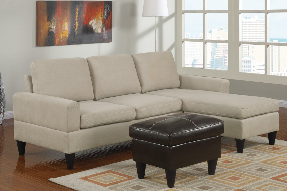 Cheap sectional sofas for small spaces for Sectional couch in small room