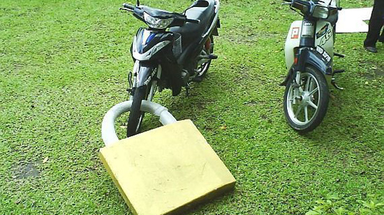 kunci solex motor Dah Kunci Pun Tak Selamat