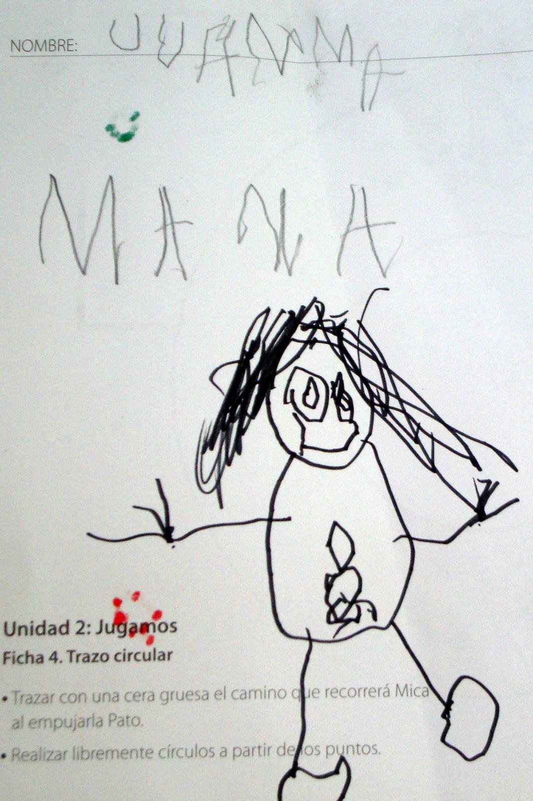 Despu  S Escribimos MAMA    Y  O No   La Dibujamos    Est