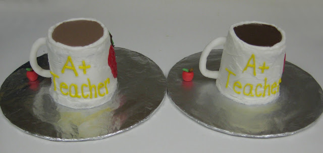Tea Mug and Coffee Mug Cakes 1
