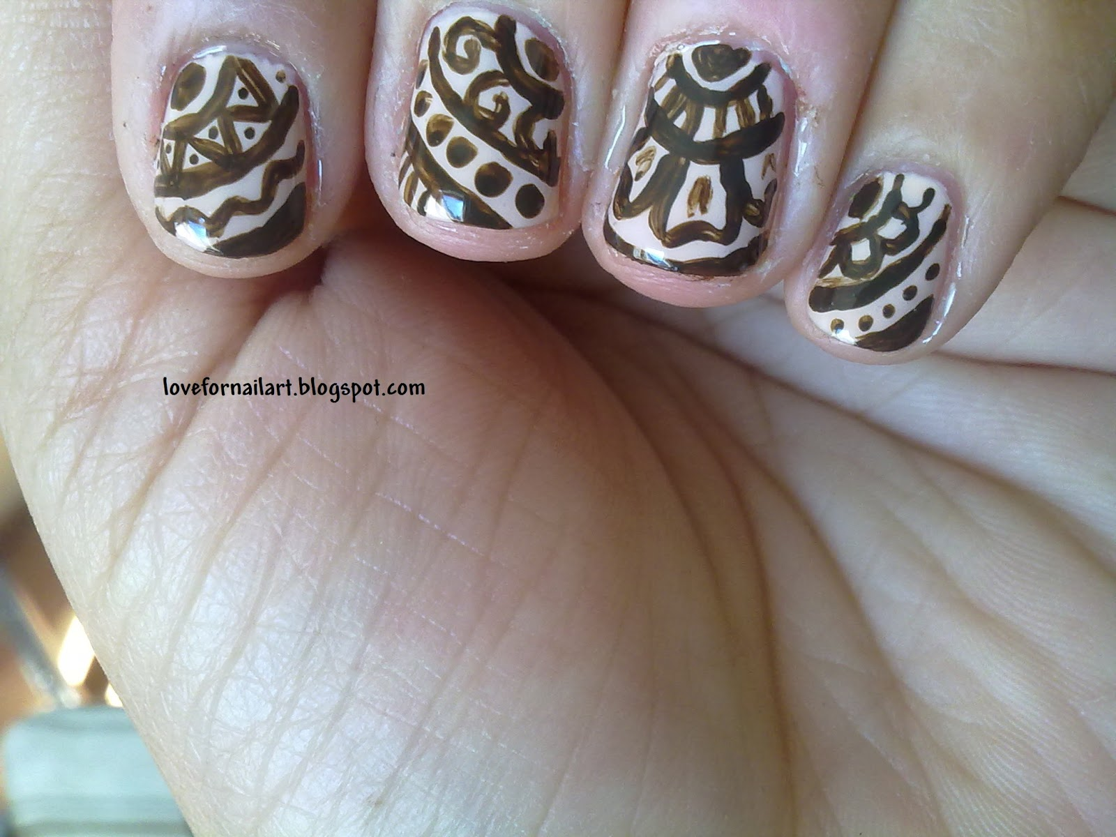 Love For Nail Art Mehndi Henna Nail Art