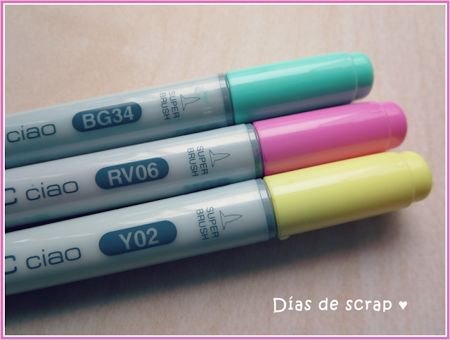 Scrap Rotuladores Copic Ciao