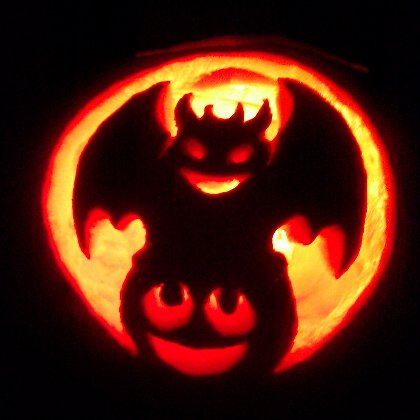 The gallery for gt easy halloween pumpkin ideas for kids for Ghost pumpkin carving ideas