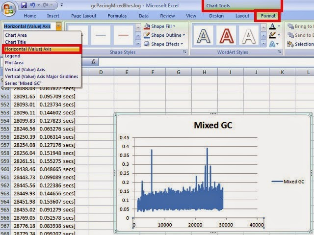 how to change your x axis on excel