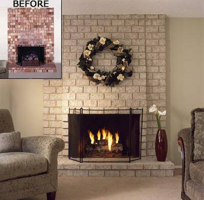 Brick Electric Fireplace4