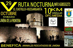 29/10 Ruta Nocturna El Castillo-Hozgarganta