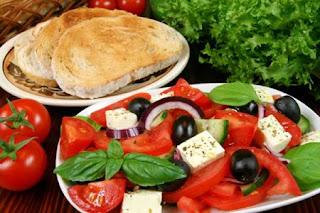 Greek Salad - Peel and Stick Wall Decal by Wallmonkeys