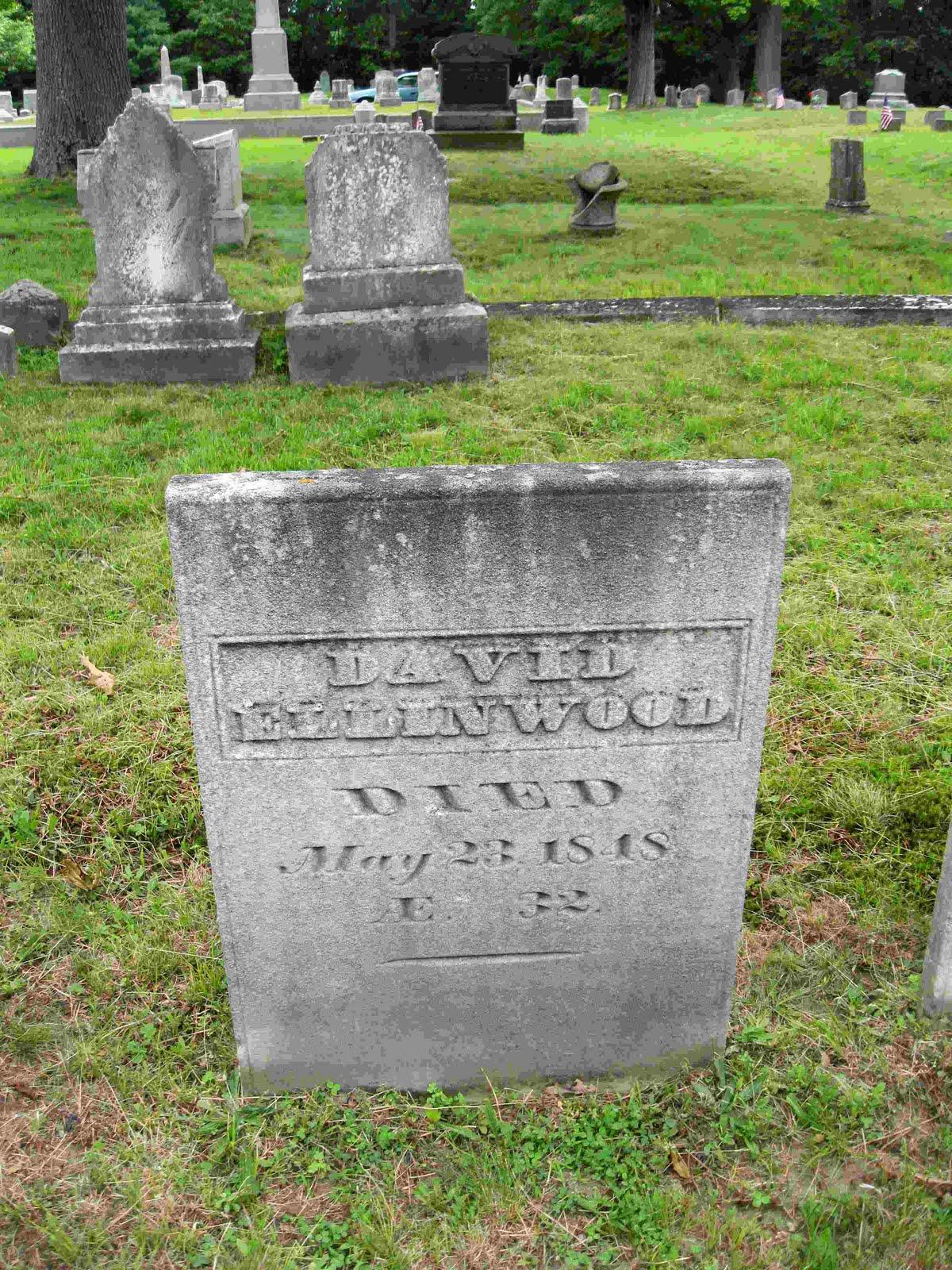 cemetery here in abington