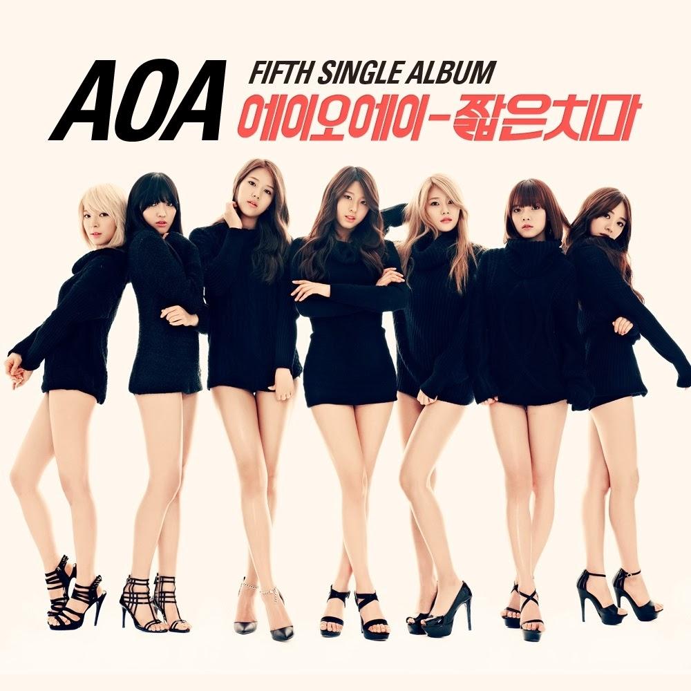 AOA Miniskirt 짧은 치마 lyrics cover