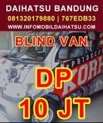 DP dan Anguran Grand Max Bandung, DP dan Angsuran Daihatsu Grand Max, Kredit Daihatsu Gran Max Blind Van