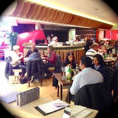prezzo, victoria place, london: christmas menu - review