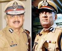 New CP Ahmed Javed (L) and Rakesh Maria (R)