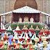 الملك محمد السادس يترأس تقديم التهاني والهدية احتفالا بزفاف الأمير مولاي رشيد