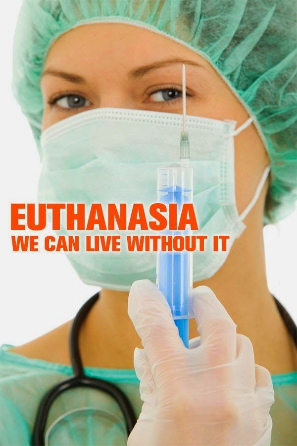 a debate on the issue of euthanasia Euthanasia is the deliberate killing of a person for the benefit of that person in most cases euthanasia is carried out because the person who dies asks for it, but there are cases called euthanasia where a person can't make such a request.