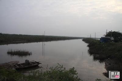 Khu đầm nhà ông Đoàn Văn Vươn. (Ảnh: vietnamnet.vn).