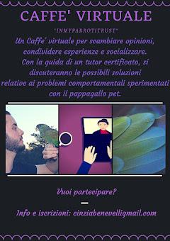 "CAFFE' VIRTUALE ""InmyparrotItrust!"""
