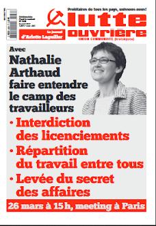 Le journal Lutte Ouvrière