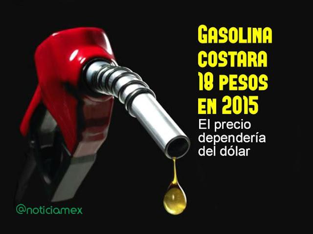 Videgaray propone precio de gasolina con base a tarifa internacional, (costaría 18 pesos)