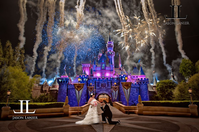 Disneyland Wedding - Jason Lanier Photography