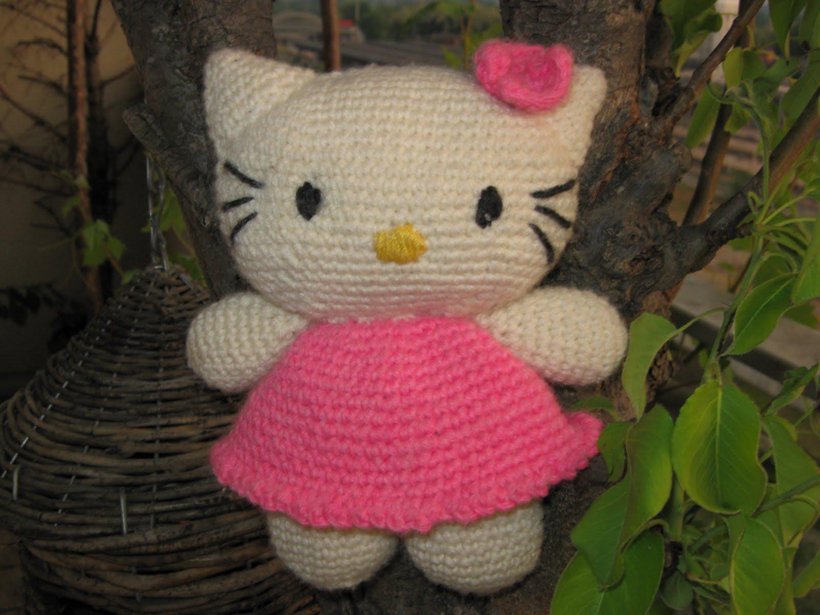 Tuto Gratuit Amigurumi Hello Kitty : Marinasognaecrea: Amigurumi Hello Kitty