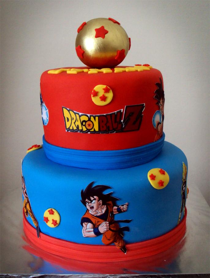 Delanas Cakes: Dragon Ball Z Cake