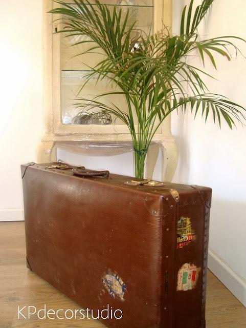 Comprar maletas viejas para decoración. Maletas antiguas estilo vintage