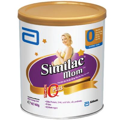 sữa bột similac mom