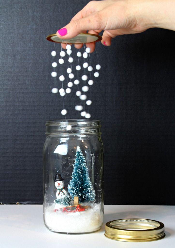 Поделка из стеклянных банок своими руками