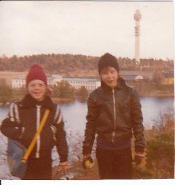 Mina älskade söner Ronny och Thomas