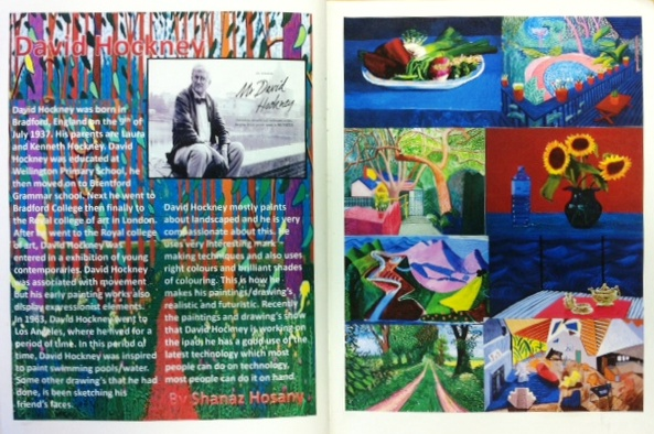 an analysis of the topic of david hockneys works of art The david hockney retrospective at the tate britain is a testament to the artist's   hockney's homosexual relationships were a frequent theme, though  these are  the paintings that made hockney famous in north america, and  but that's the  shallowest possible interpretation of david hockney's work.