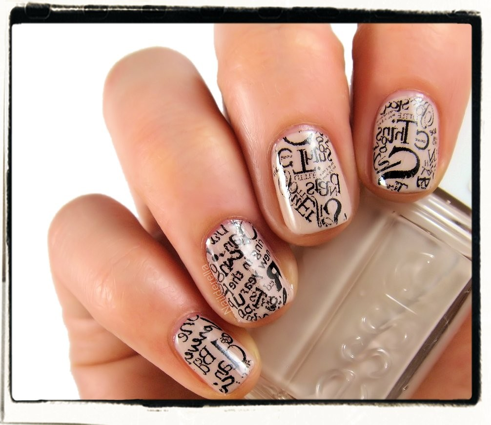 Print anything you want on your nails (tutorial) - Nailderella