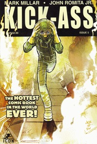 Cover of Kick-Ass fifth issue