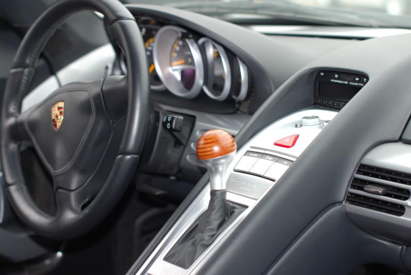 Porsche Carrera Gt Interior. Porsche Carrera GT Pictures