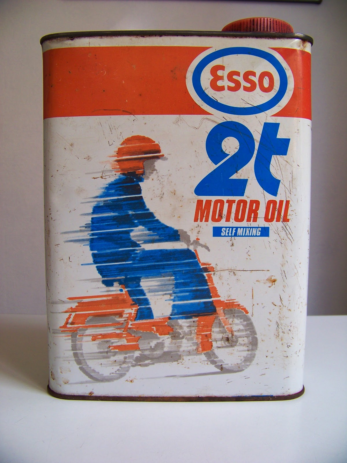 Vintage Esso Oil Can Vintage Esso 2 Stoke Oil Can