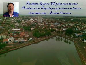 Parabéns Guaíra SP