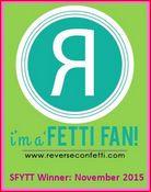Reverse Confetti SFYTT Winner