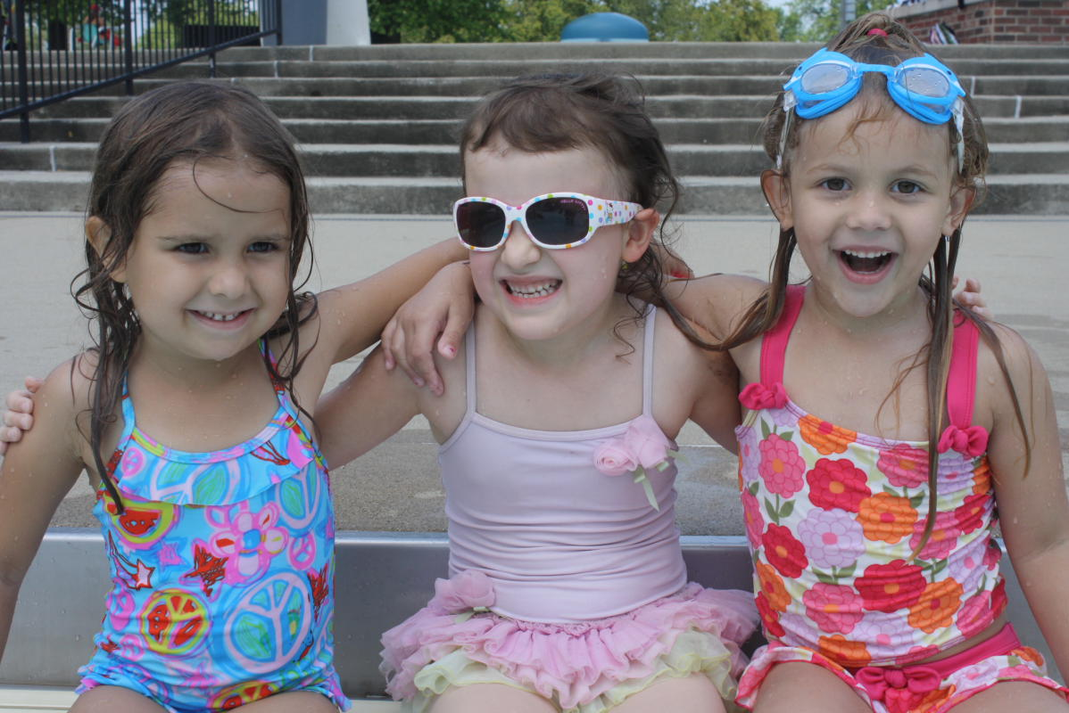 lueker munchkins - school & play: pool fun - summer 2012
