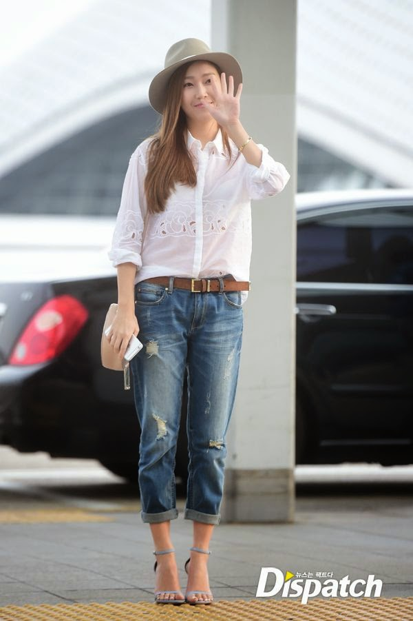 Check Out Jessica Jung 39 S Gorgeous Photos From The Airport Wonderful Generation