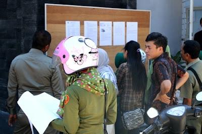 Pengumuman hasil tes CPNS disampaikan pada 21 Desember 2013.
