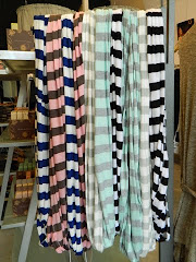 New Nautical Stripes Infinity Scarves
