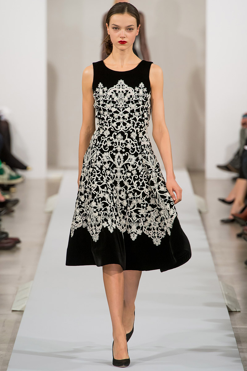 rubafahhd oscar de la renta fall 2013 rtw. Black Bedroom Furniture Sets. Home Design Ideas